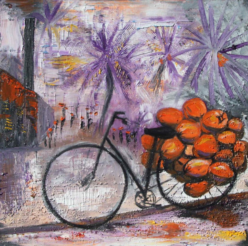 vélo cocos 40/40 cm, vendu