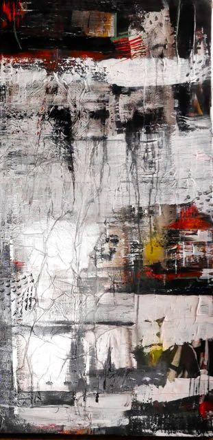 Abstraits noirs et blancs