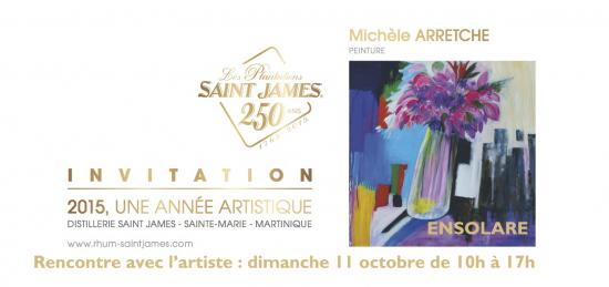 Invitation ensolare miche le arretche saint james